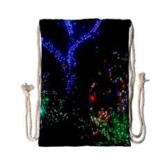 Christmas Lights 2 Drawstring Bag (small)