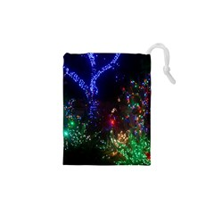 Christmas Lights 2 Drawstring Pouches (xs)  by trendistuff