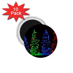 Christmas Lights 1 1 75  Magnets (10 Pack)  by trendistuff