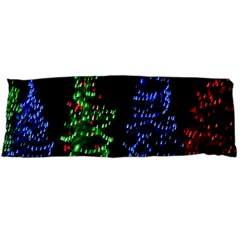 CHRISTMAS LIGHTS 1 Body Pillow Cases (Dakimakura)  by trendistuff