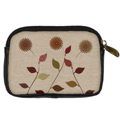 Garden Love Gardener Florist By Lucy   Digital Camera Leather Case   Gnal2s0zg8pm   Www Artscow Com Back