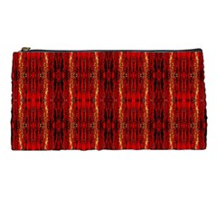 Red Gold, Old Oriental Pattern Pencil Cases