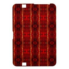 Red Gold, Old Oriental Pattern Kindle Fire Hd 8 9  by Costasonlineshop