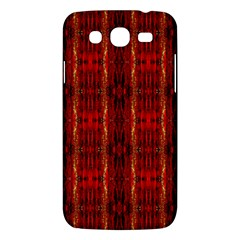 Red Gold, Old Oriental Pattern Samsung Galaxy Mega 5 8 I9152 Hardshell Case  by Costasonlineshop