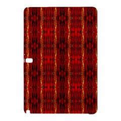 Red Gold, Old Oriental Pattern Samsung Galaxy Tab Pro 12 2 Hardshell Case by Costasonlineshop