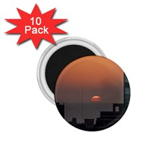 Aerial View Of Sunset At The River In Montevideo Uruguay 1.75  Magnets (10 pack)  by dflcprints