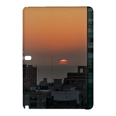 Aerial View Of Sunset At The River In Montevideo Uruguay Samsung Galaxy Tab Pro 10 1 Hardshell Case by dflcprints