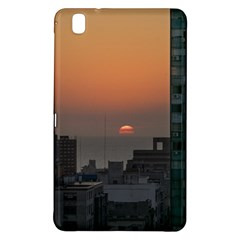 Aerial View Of Sunset At The River In Montevideo Uruguay Samsung Galaxy Tab Pro 8 4 Hardshell Case by dflcprints