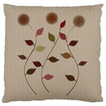 Rustic Gardener Florist - Large Cushion Case (Two Sides)