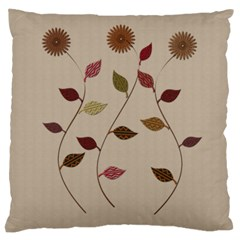 Rustic Gardener Florist By Lucy   Large Cushion Case (two Sides)   V5jurshmfiyc   Www Artscow Com Back