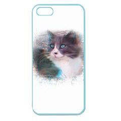 Cat Splash Png Apple Seamless Iphone 5 Case (color) by infloence