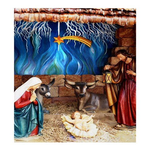 Christ Nativity Scene Template Preset Formatted For Product: Shower Curtain By Pamela Sue Goforth   Shower Curtain 66  X 72  (large)   1o8wut2vrda6   Www Artscow Com 58.75 x64.8 Curtain
