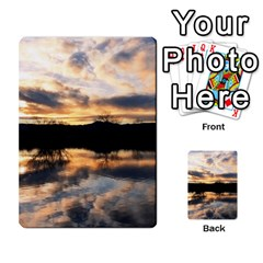Sun Reflected On Lake Multi Purpose Cards (rectangle)  by trendistuff