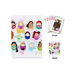 Disney Ladies Playing Cards (mini)  by lauraslovelies