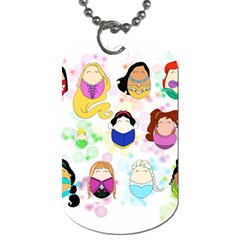 Disney Ladies Dog Tag (one Side) by lauraslovelies