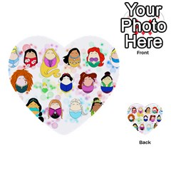 Disney Ladies Multi Purpose Cards (heart)