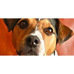 Jack Russell Terrier You Are Invited 3d Greeting Card (8x4)
