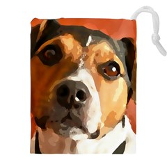 Jack Russell Terrier Drawstring Pouches (xxl) by Rowdyjrt