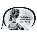 Well-Behaved Women Seldom Make History Accessory Pouches (Medium)  Front