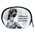 Well-Behaved Women Seldom Make History Accessory Pouches (Medium)  Back