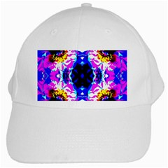 Animal Design Abstract Blue, Pink, Black White Cap by Costasonlineshop