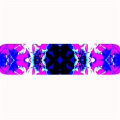 Animal Design Abstract Blue, Pink, Black Large Bar Mats by Costasonlineshop