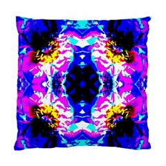 Animal Design Abstract Blue, Pink, Black Standard Cushion Cases (two Sides)  by Costasonlineshop