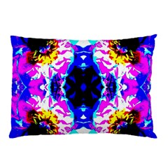 Animal Design Abstract Blue, Pink, Black Pillow Cases