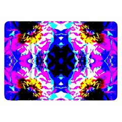 Animal Design Abstract Blue, Pink, Black Samsung Galaxy Tab 8 9  P7300 Flip Case