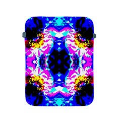 Animal Design Abstract Blue, Pink, Black Apple Ipad 2/3/4 Protective Soft Cases by Costasonlineshop