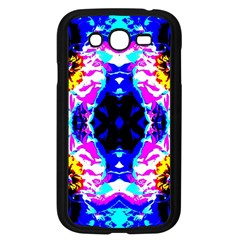 Animal Design Abstract Blue, Pink, Black Samsung Galaxy Grand Duos I9082 Case (black) by Costasonlineshop