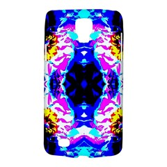Animal Design Abstract Blue, Pink, Black Galaxy S4 Active by Costasonlineshop