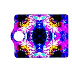 Animal Design Abstract Blue, Pink, Black Kindle Fire Hd (2013) Flip 360 Case