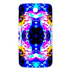 Animal Design Abstract Blue, Pink, Black Samsung Galaxy Mega I9200 Hardshell Back Case