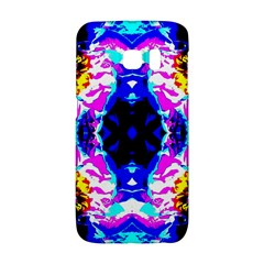 Animal Design Abstract Blue, Pink, Black Galaxy S6 Edge by Costasonlineshop