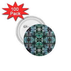 Green Black Gothic Pattern 1.75  Buttons (100 pack)  by Costasonlineshop