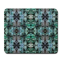 Green Black Gothic Pattern Large Mousepads