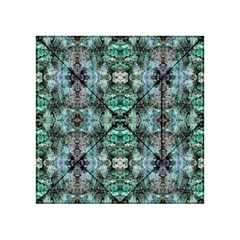 Green Black Gothic Pattern Acrylic Tangram Puzzle (4  x 4 ) by Costasonlineshop