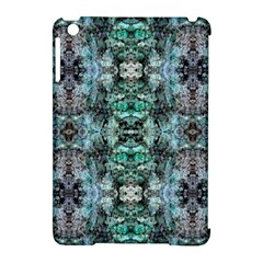 Green Black Gothic Pattern Apple Ipad Mini Hardshell Case (compatible With Smart Cover) by Costasonlineshop