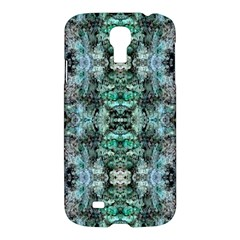 Green Black Gothic Pattern Samsung Galaxy S4 I9500/i9505 Hardshell Case by Costasonlineshop