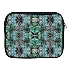 Green Black Gothic Pattern Apple iPad 2/3/4 Zipper Cases by Costasonlineshop