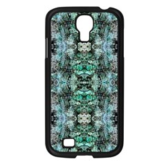 Green Black Gothic Pattern Samsung Galaxy S4 I9500/ I9505 Case (Black) by Costasonlineshop
