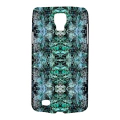 Green Black Gothic Pattern Galaxy S4 Active by Costasonlineshop