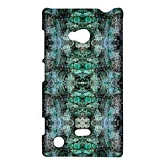 Green Black Gothic Pattern Nokia Lumia 720 by Costasonlineshop