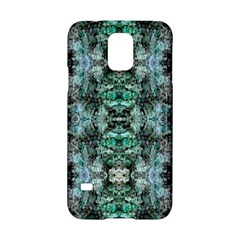Green Black Gothic Pattern Samsung Galaxy S5 Hardshell Case  by Costasonlineshop