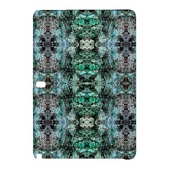 Green Black Gothic Pattern Samsung Galaxy Tab Pro 12 2 Hardshell Case by Costasonlineshop