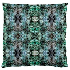 Green Black Gothic Pattern Standard Flano Cushion Cases (two Sides)  by Costasonlineshop