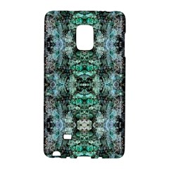 Green Black Gothic Pattern Galaxy Note Edge by Costasonlineshop