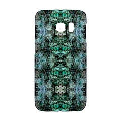 Green Black Gothic Pattern Galaxy S6 Edge by Costasonlineshop