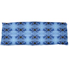 Pastel Blue Flower Pattern Body Pillow Cases (dakimakura)